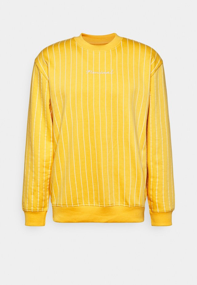 MOTION CREW - Sweatshirt - yellow