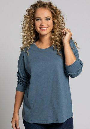 Long sleeved top - bleu topaze
