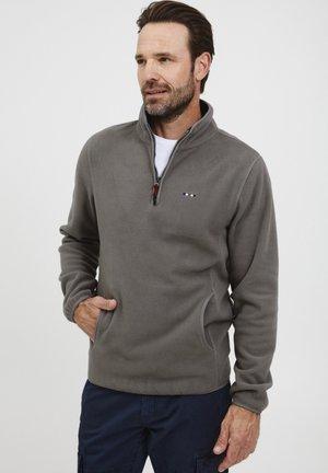 BRODER - Fleece trui - steel gray