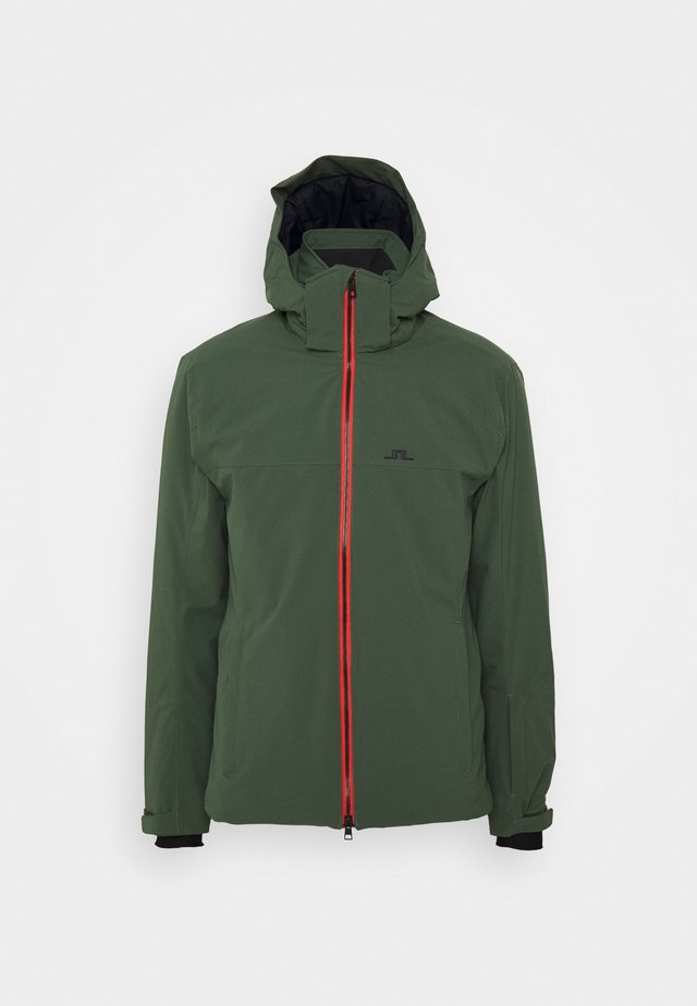 TRUULISKI - Lyžařská bunda - thyme green