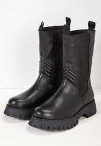 Inuovo - Boots - blackblk - 3