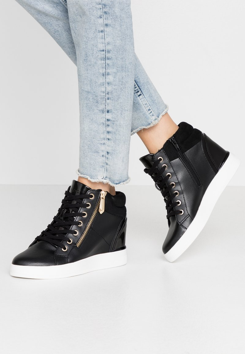 ALDO Wide Fit - AILANNA WIDE FIT - Sneakers basse - black