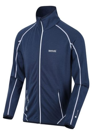 REGATTA HENTANA II POWERSTRETCH WOLLMIX FLEECEJACKE HERREN DARK  - Training jacket - dark denim