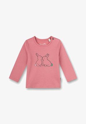 Sanetta Kidswear - Mädchen  Mushrooms  - Longsleeve - rosa