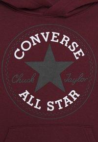 Converse - CHUCK PATCH HOODIE  - Felpa con cappuccio - dark burgundy - 2