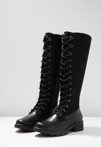 Tamaris - Lace-up boots - black - 4