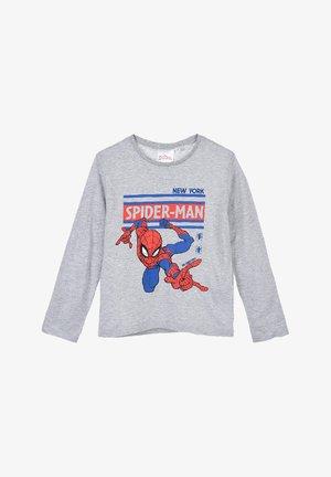 SPIDER-MAN - Long sleeved top - grau