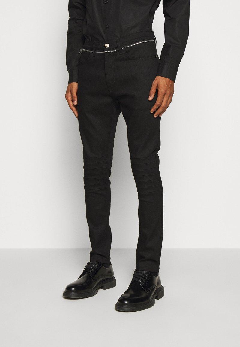 HUGO - Slim fit jeans - black