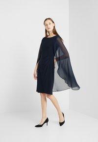 Lauren Ralph Lauren - CLASSIC DRESS COMBO - Cocktail dress / Party dress - lighthouse navy - 0