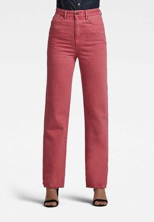 TEDIE ULTRA HIGH  - Straight leg jeans - recycrom petunia pink gd