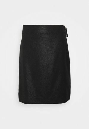 HOLLY SKIRT - Minijupe - black