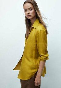 Massimo Dutti - Koszula - mustard yellow - 1
