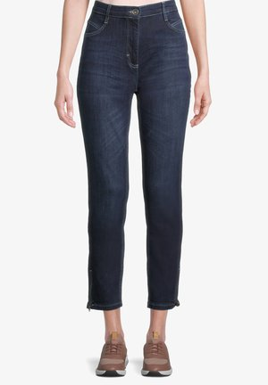 Jean slim - blue used denim
