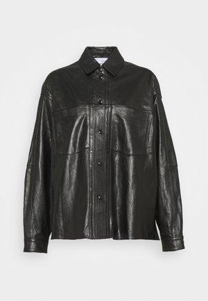 AZURIT - Button-down blouse - black