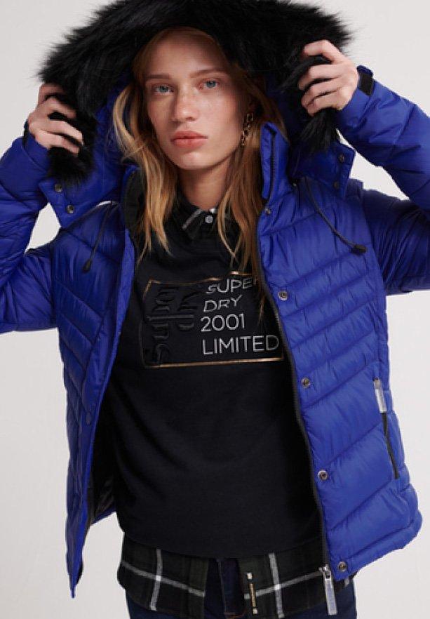 Superdry - 3 IN 1 JACKET - Light jacket - cobalt blue
