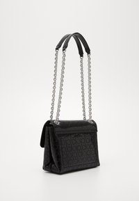 Calvin Klein - RE LOCK CROSSBODY - Torba na ramię - black - 3