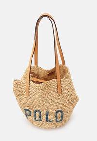 Polo Ralph Lauren - Velká kabelka - natural/blue - 3