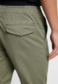 Solid - TRUC CUFF - Trousers - dusty oliv - 5