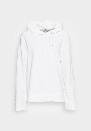 REGULAR HOODIE - Sweatshirt - white
