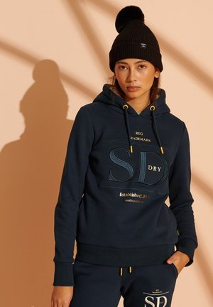 ESTABLISHED HOOD - Hoodie - nautical navy