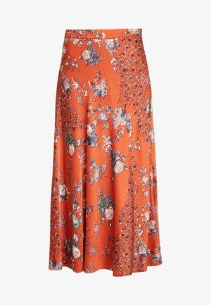 SKIRT BILLIE - A-line skirt - metallic red