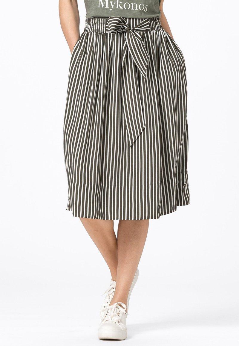 HALLHUBER - A-line skirt - fango