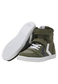 Hummel - High-top trainers - olive night - 1