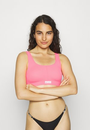 WOMEN SPORTY PADDED - Top - pink