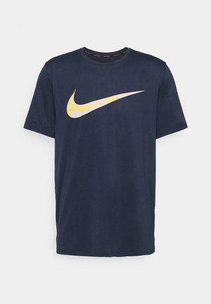 DRY - T-shirt con stampa - obsidian