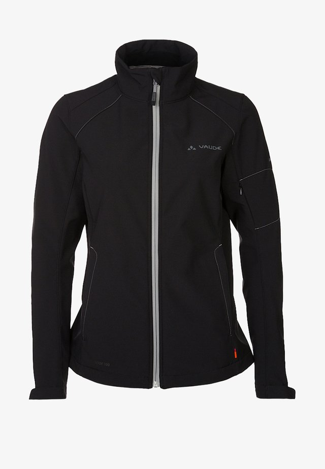 CYCLONE IV - Soft shell jacket - black