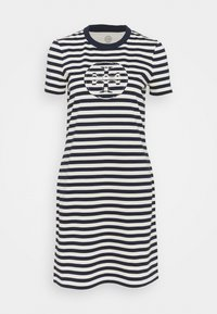 Tory Burch - LOGO DRESS - Jersey dress - tory navy/new ivory - 5