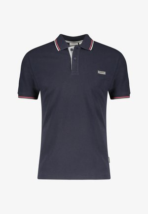 TALY STRIPE - Polo shirt - dark blue