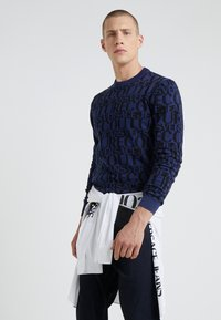 Versace Jeans Couture - MAGLIERIA - Jumper - blue - 1