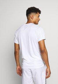 Diadora - TEAM - Camiseta estampada - optical white - 2
