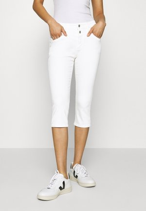 HOSE - Denim shorts - white denim