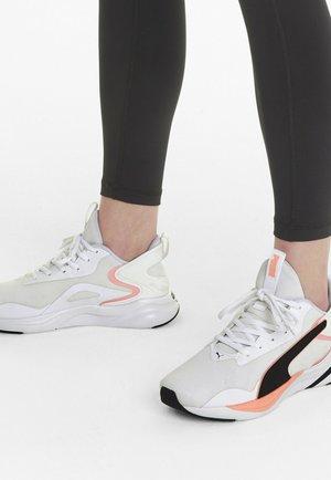 Neutral running shoes - white black elektro peach