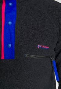 Columbia - HELVETIA™ HALF SNAP - Forro polar - black - 5