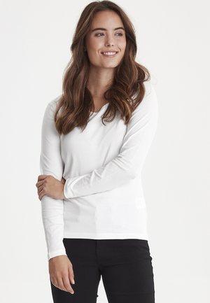 ZAGANIC  - Pitkähihainen paita - off-white