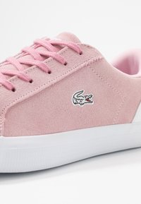 Lacoste - LEROND  - Trainers - pink/white - 2