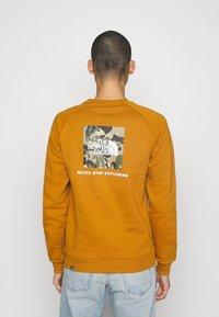 The North Face - RAGLAN  - Sweatshirt - timber tan/burnt olive green - 2