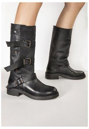 Cowboy/Biker boots - black blk