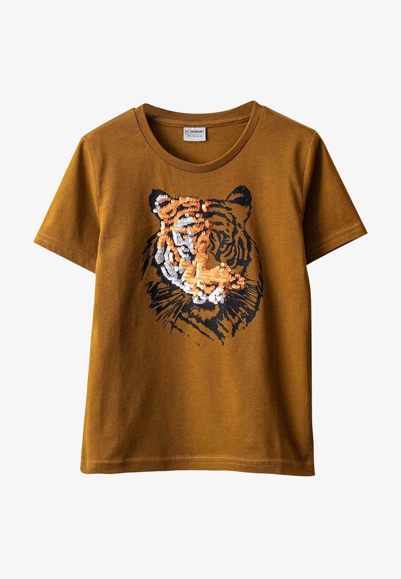 LC Waikiki - Print T-shirt - mustard