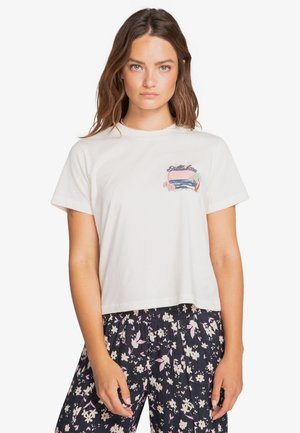 CALIFORNIA DREAMING - Print T-shirt - salt crystal