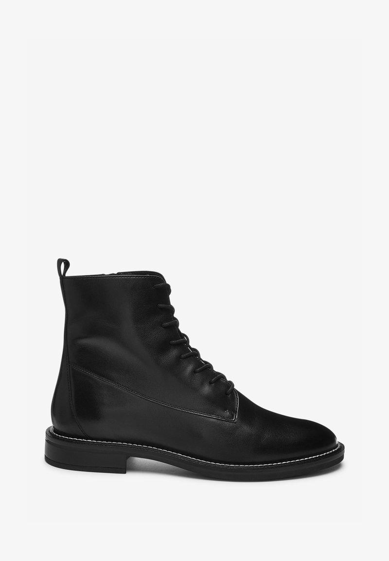 Next - Kovbojské/motorkářské boty - black