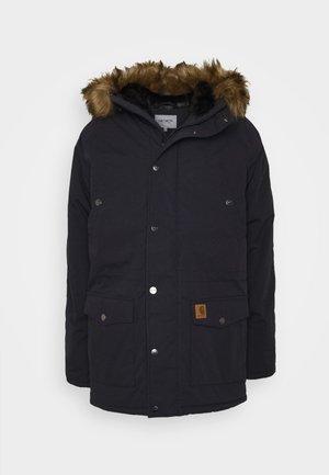 TRAPPER - Winter coat - dark navy/black