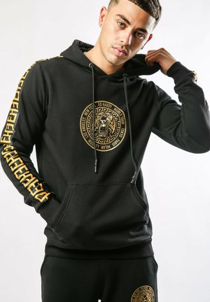 ROUR-TOUR POUCH HOODY - Hoodie - black