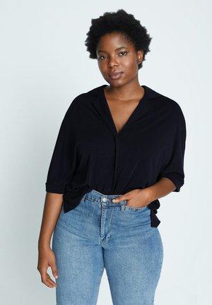 CUPER - Button-down blouse - dunkles marineblau