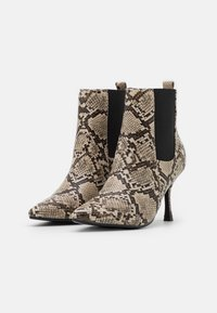 4th & Reckless - EMELIE - High heeled ankle boots - beige - 2