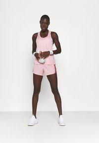 Nike Performance - 10K SHORT - Sports shorts - pink glaze/canyon rust/wolf grey - 1
