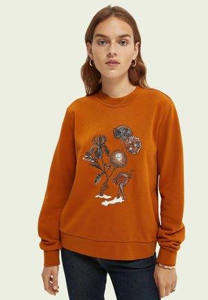 REGULAR FIT  - Sweatshirt - copper